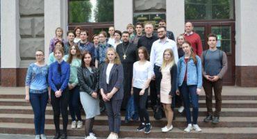 Состоялась презентация проекта «Жемчужное ожерелье Святой Руси» в Белорусско-российском университете города Могилёв