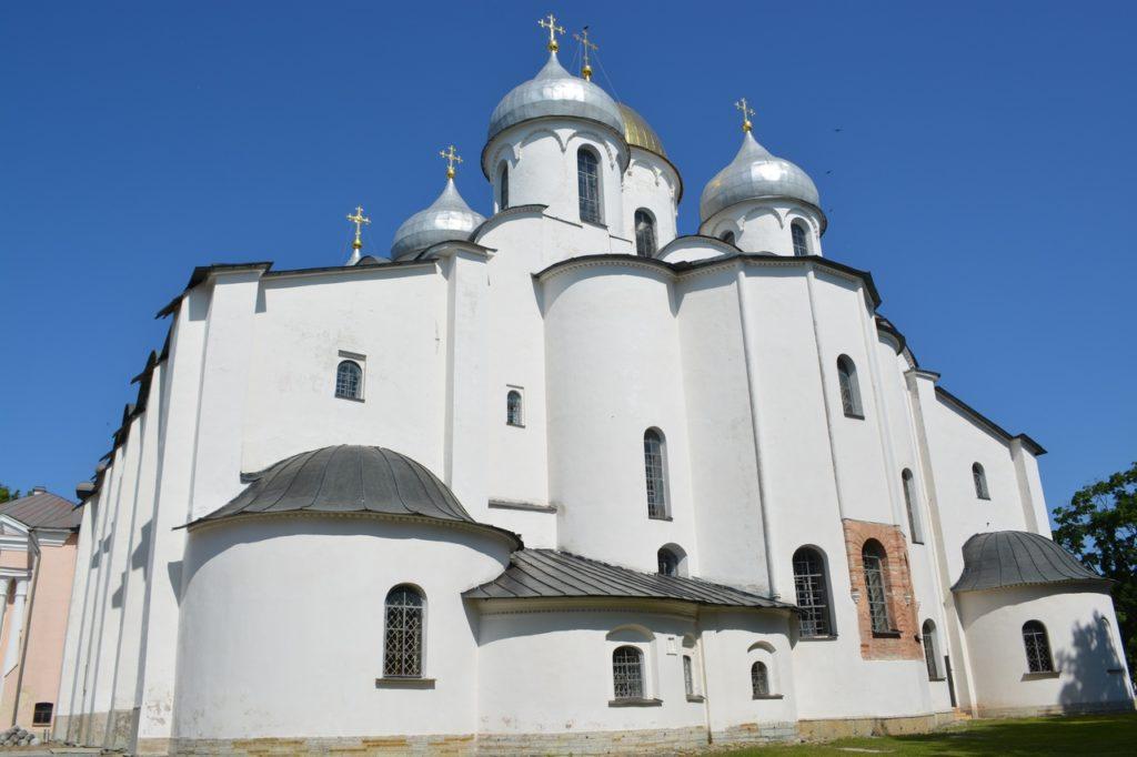 Главная жемчужина Великого Новгорода — Собор Святой Софии — Премудрости Божией