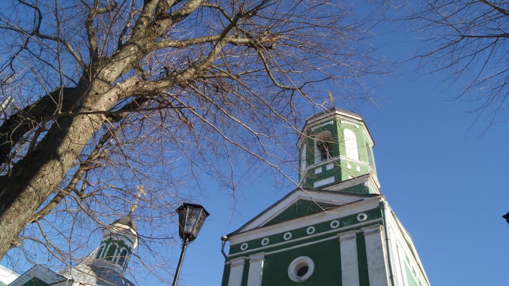 Покровский храм и семинария