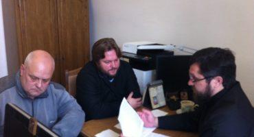 Рабочая встреча по проекту «Жемчужное ожерелье Святой Руси»