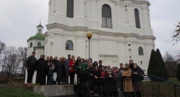Участники пилотного тура посетили древний Полоцк